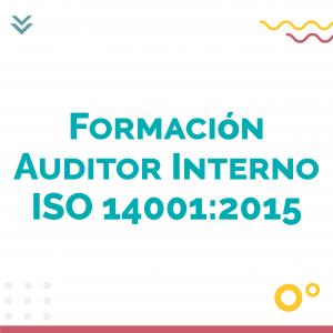 Formacion Auditor Interno ISO 14001 2015