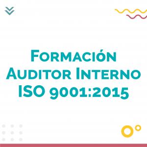FormacionAuditorInterno ISO 9001 2015